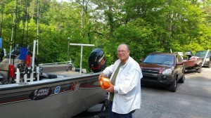 Steve too at Lake Rabun May 2015